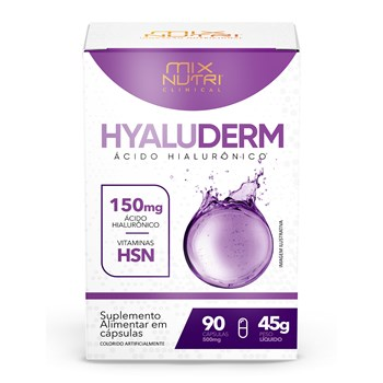 CLINICAL HYALUDERM 90CAPS