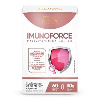 CLINICAL - IMUNOFORCE -A -Z MULHER  -60 CAPS - 30G