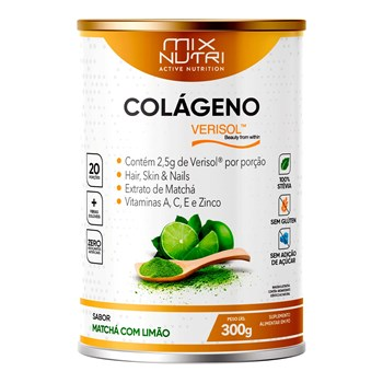 COLAGENO VERISOL MATCHA COM LIMAO 300G
