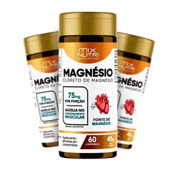 NUTRACEUTICAL CLORETO DE MAGNESIO - 60 COMP - 45G