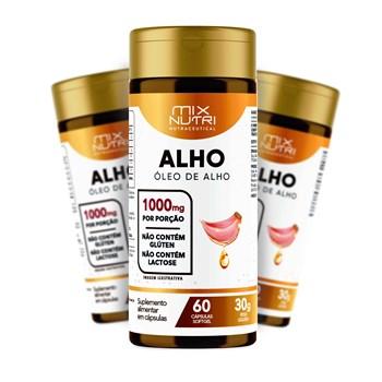 NUTRACEUTICAL OLEO DE ALHO - 60 CAPS - 30G