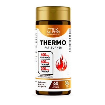 NUTRACEUTICAL THERMO FAT BURNER - 60 CAPS - 30G